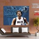 Dirk Nowitzki Playoffs 2011 Nba Huge Giant Print Poster