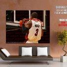 Dwayne Wade Rim Miami Heat Nba Huge Giant Print Poster