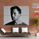 Daniel Craig Portrait Bw Male Actor Huge Giant Print Poster