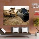 Grim Machine Tank Military War Huge Giant Print Poster