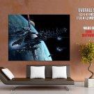 Star Trek Space Colony Movie Art Huge Giant Print Poster