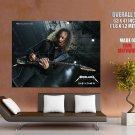 Kirk Hammett Metallica Guitarists HUGE GIANT Print Poster