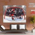 Sidney Crosby Vs Chris Phillips Nhl Huge Giant Print Poster
