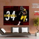 Rashard Mendenhall Steelers Nfl Huge Giant Print Poster
