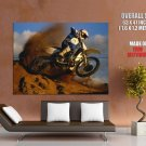 Freestyle Motocross Extreme Sport HUGE GIANT Print Poster