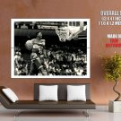 Dominique Wilkins Atlanta Hawks Nba Huge Giant Print Poster
