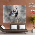 Tom Brady New England Patriots Nfl Huge Giant Print Poster
