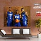 James Wade Bosh East All Star Nba Huge Giant Print Poster