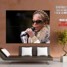 Mary J Blige Live New Music Huge Giant Print Poster