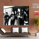 The Beatles Live Bw New Music Huge Giant Print Poster