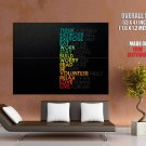 Motivational Inspirational Happy Forever Well Huge Giant Print Poster