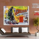 Godzilla King Of The Mosnters Raymond Burr Huge Giant Print Poster