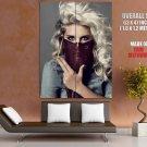 Singer Kesha Pop Dance Pop Electro Huge Giant Print Poster