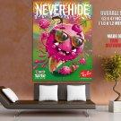 Never Hide Germany Swirl Andreaskrapf HUGE GIANT Print POSTER