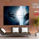 Gravity Movie Drama Fantasy Adventure George Clooney HUGE GIANT Print POSTER