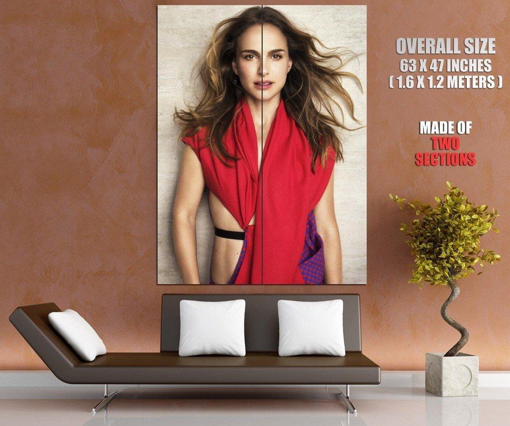 Natalie Portman Actress Leon Star Wars Huge Giant Print Poster
