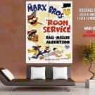 Room Service 1938 Retro Movie Vintage HUGE GIANT Print Poster