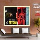 Psycho 1960 Alfred Hitchcock Movie Vintage HUGE GIANT Print Poster