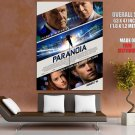 Paranoia Hemsworth Oldman Heard Ford HUGE GIANT Print Poster