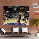 Paul George Indiana Pacers Slam Dunk Nba Huge Giant Print Poster