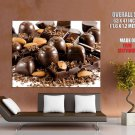 Chocolate Macro Food Huge Giant Print Poster