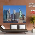 Statue Of Liberty New York City HUGE GIANT Print Poster