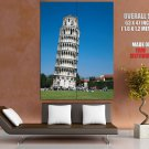Leaning Tower Pisa Italy Huge Giant Print Poster