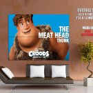 The Croods 2013 The Meat Head Thunk HUGE GIANT Print Poster