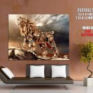 Steampunk Fantasy Lion Cg Art Huge Giant Print Poster