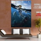 Tomb Raider Underworld Game Art Sharks HUGE GIANT Print Poster