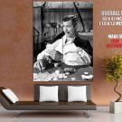 Gone With The Wind Clark Gable BW Movie HUGE GIANT Print Poster