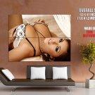 Gemma Massey Big Boobs Hot Model Huge Giant Print Poster