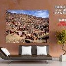 Tibetan Nun Colony National Geographic HUGE GIANT Print Poster