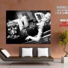 Hell Yeah Beer Hot Babe Tattoos Huge Giant Print Poster