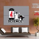 Science Dinosaur Clone Cool Art HUGE GIANT Print Poster