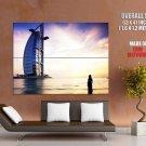 Burj Al Arab Dubai Cityscape Huge Giant Print Poster