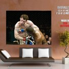 MMA Rashad Evans Vs Forrest Griffin Sport HUGE GIANT Print Poster