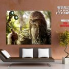 Wookiee Chieftain Star Wars Art HUGE GIANT Print Poster