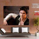 Han Solo Harrison Ford Star Wars Art HUGE GIANT Print Poster