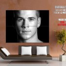Liam Hemsworth BW Portrait Movie Actor HUGE GIANT Print Poster