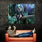 Hatsune Miku Vocaloid Hot Anime Art Huge 47x35 Print POSTER
