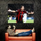 Filippo Inzaghi Milan Goal Celebration Football Huge 47x35 Print POSTER