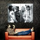 Motley Crue Heavy Metal Hard Rock Music Huge 47x35 Print POSTER
