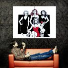 Desperate Housewives Drawing Art TV Series Huge 47x35 Print POSTER