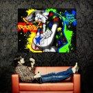 Franky Colors Splashes Cool Art Huge 47x35 Print POSTER