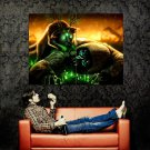 Romantically Apocalyptic Mutant Cat Nuclear Art Huge 47x35 Print POSTER