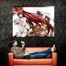 Elfen Lied Lucy Hot Girl Anime Manga Art Huge 47x35 Print POSTER