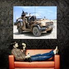 Panhard Military Machine Guns Dust Car Huge 47x35 Print POSTER