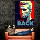 Arnold Schwarzenegger I Ll Be Back Art Huge 47x35 Print POSTER