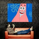 Patrick Star Funny SpongeBob SquarePants TV Huge 47x35 Print POSTER